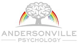 andersonville psychology rainbow logo
